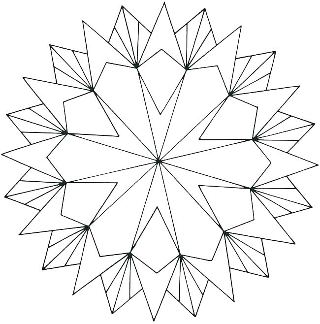 650x658 Geometric Coloring Pages Pdf Geometric Coloring Pages Geometric