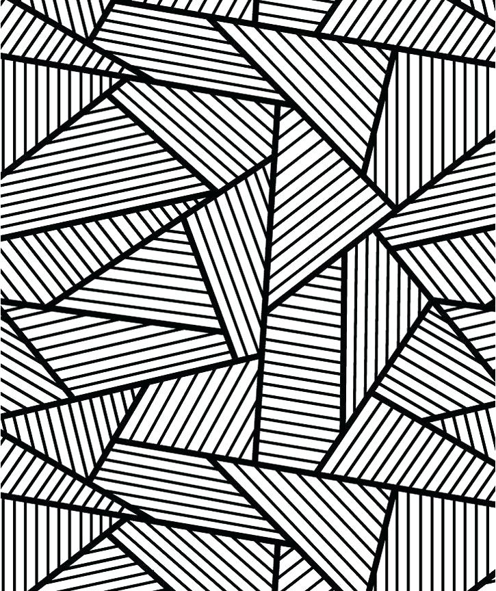 Geometric Pattern Coloring Pages For Adults at GetDrawings ...