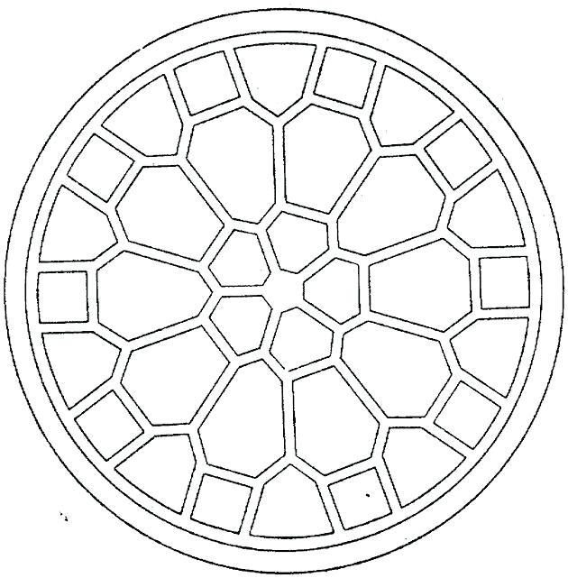 630x641 Geometric Design Coloring Pages Pattern Coloring Page Geometric