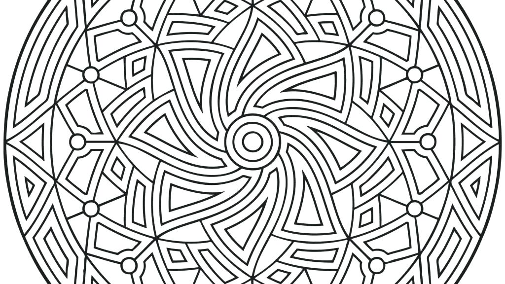 1024x576 Geometric Pattern Coloring Pages Coloring Pages Flowers