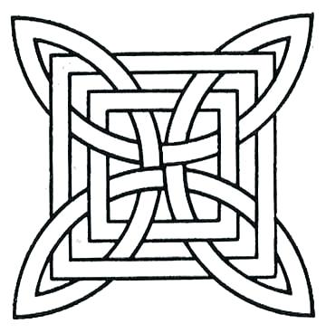 360x368 Geometric Pattern Coloring Pages Geometric Pattern Coloring Pages