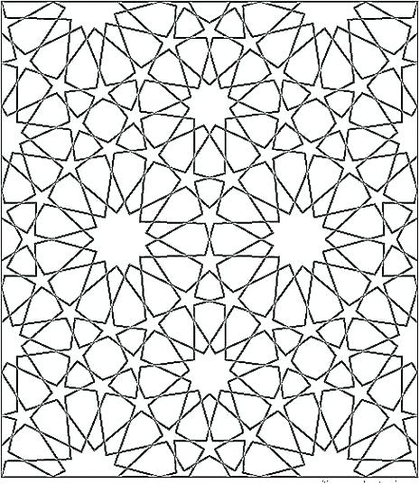 464x546 Abstract Patterns Coloring Pages Geometric Patterns To Color