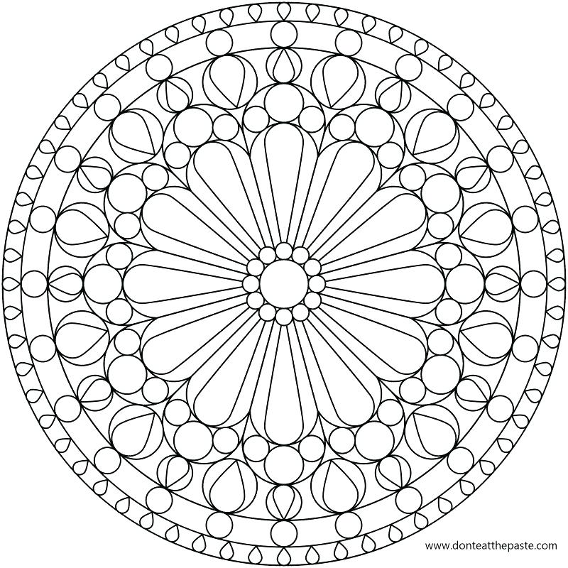 800x800 Printable Pattern Coloring Pages Posts Flower Pattern Coloring