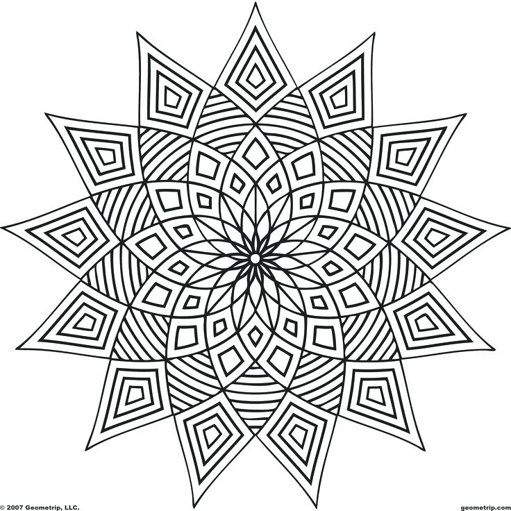 736x736 Pattern Coloring