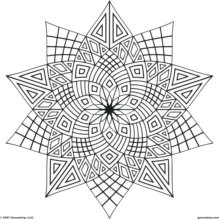 736x736 Coloring Geometric Shapes Coloring Pages Geometric Love Geometric