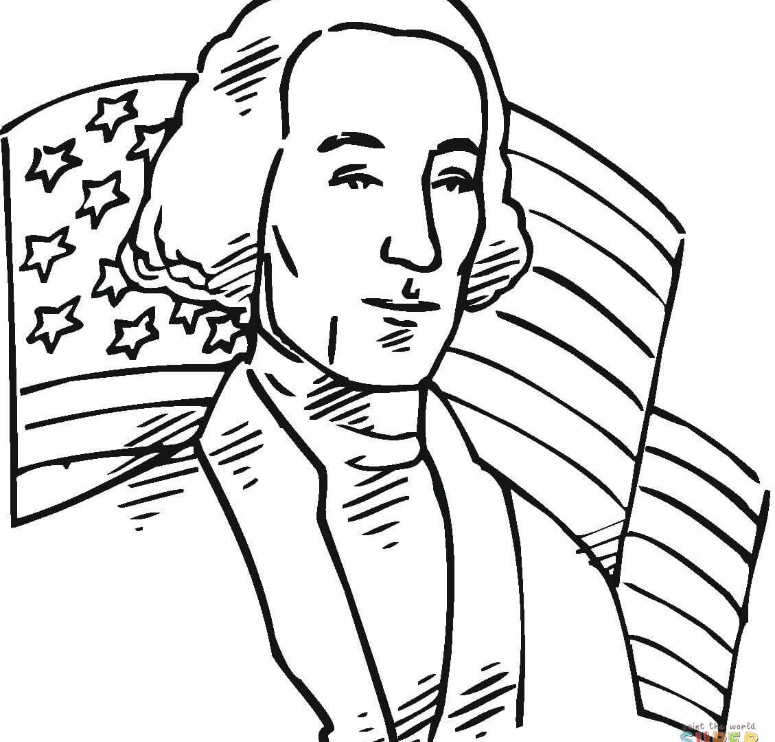 1129x1080 George H W Bush Coloring Page Pages For Kids Wonderful Us