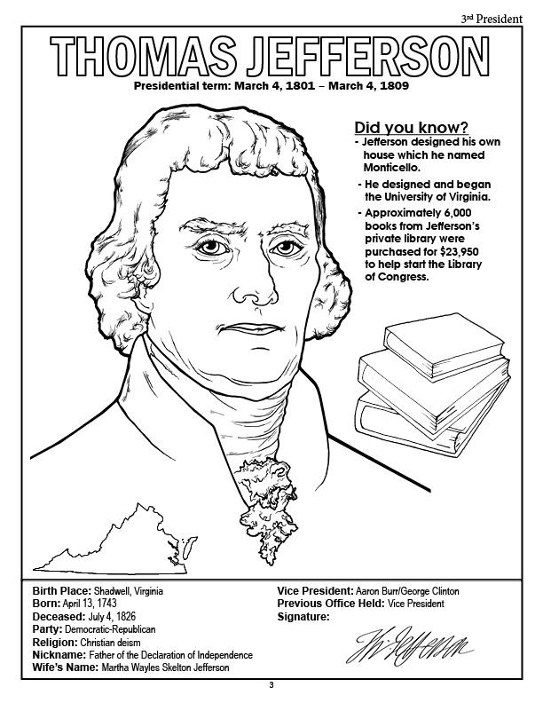 612x792 Coloring Books American Presidents Coloring Book