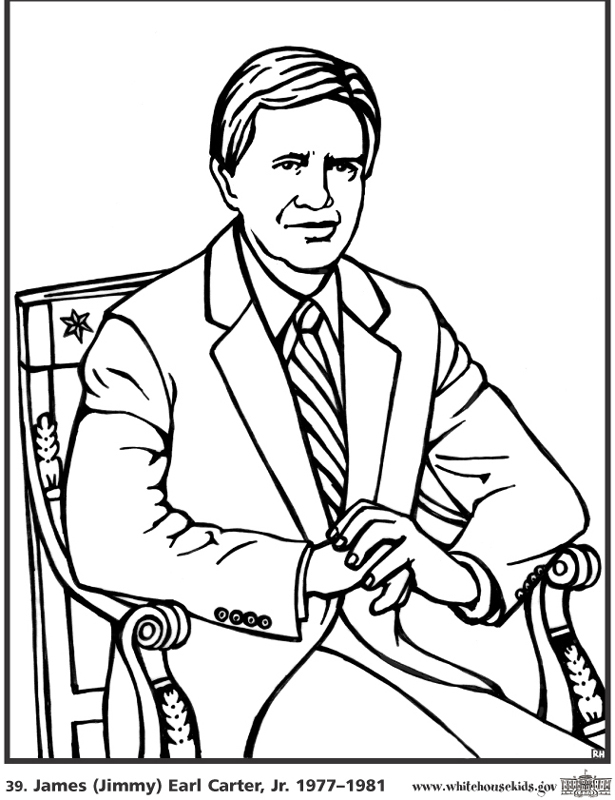 615x800 President Bush Colouring Pages, George W Bush Coloring Page