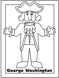 George Washington Coloring Pages Printable At Getdrawings Com Free