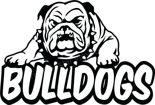 500x339 Georgia Bulldog Coloring Pages Home Schools And Teams Window