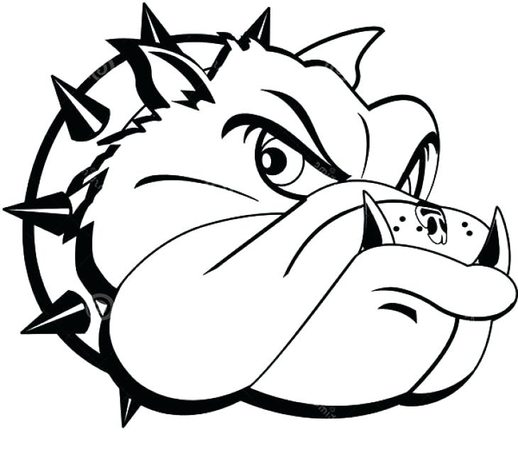 730x657 Bulldog Coloring Page Bulldog Coloring Page Bulldogs Coloring