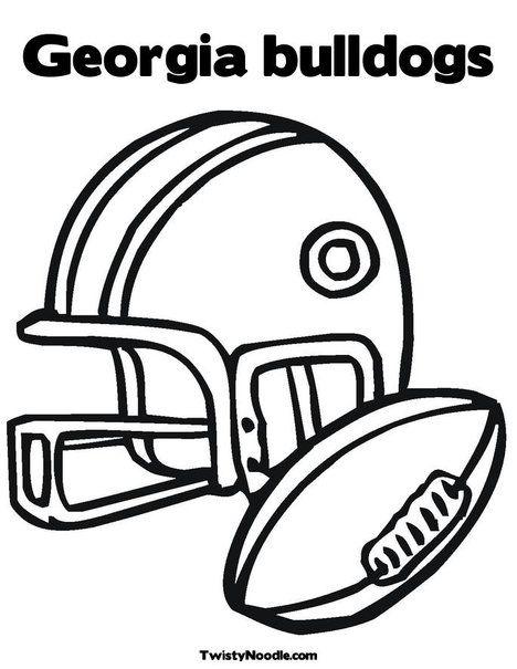 468x605 Georgia Bulldogs Helmet Coloring Pages Georgia Bulldogs Coloring