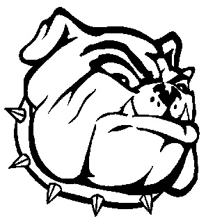 296x321 Bulldog Coloring Pictures Georgia Bulldogs Coloring Pages