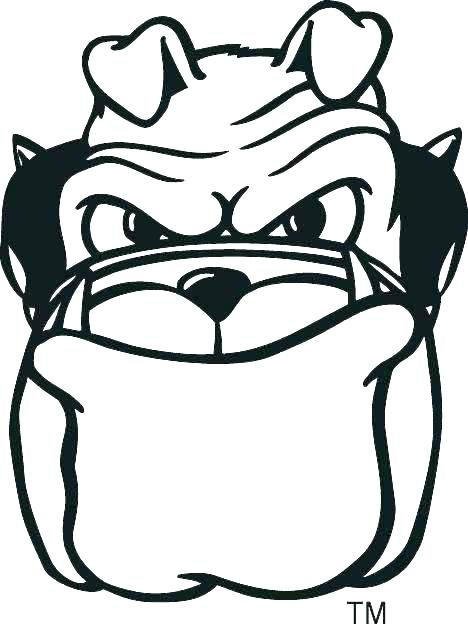 468x624 Georgia Bulldogs Logo Images