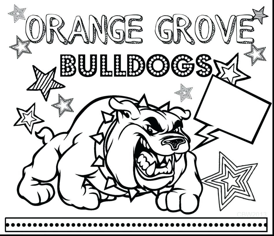 948x819 Bulldog Coloring Pages Bulldog Coloring Pages Basketball Bulldogs