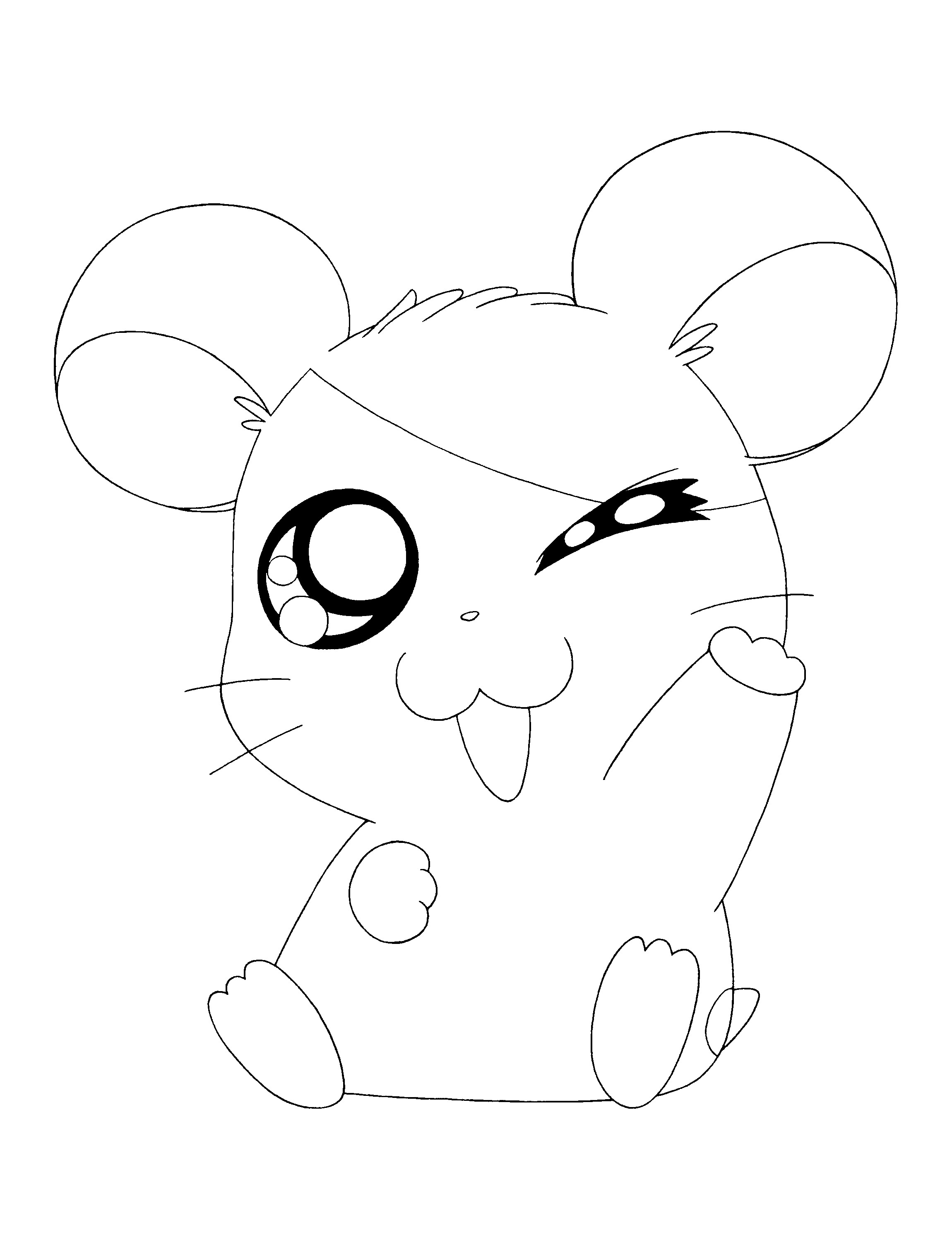2300x3000 Best Of Hamster Free Page To Color Design Printable Coloring Sheet