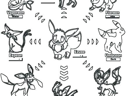 440x330 Umbreon Coloring Pages Cheap Gerbil Coloring Pages Crayola Photo