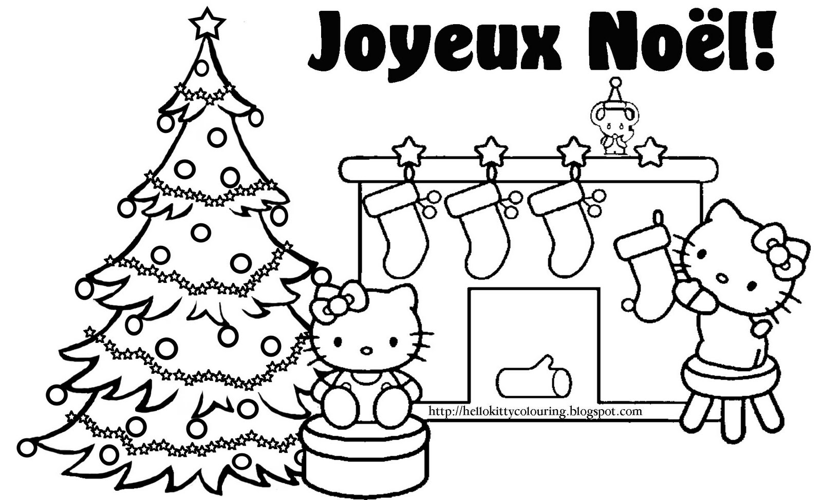 1600x974 French Christmas Coloring Pages