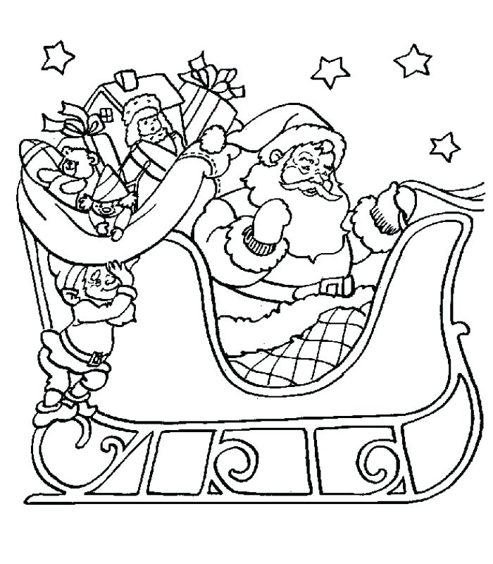 700x800 German Christmas Coloring Pages