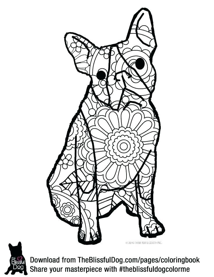 736x952 Cute German Shepherd Coloring Pages