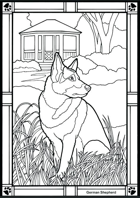 474x668 German Shepherd Coloring Book Plus Coloring Pages Great Castles