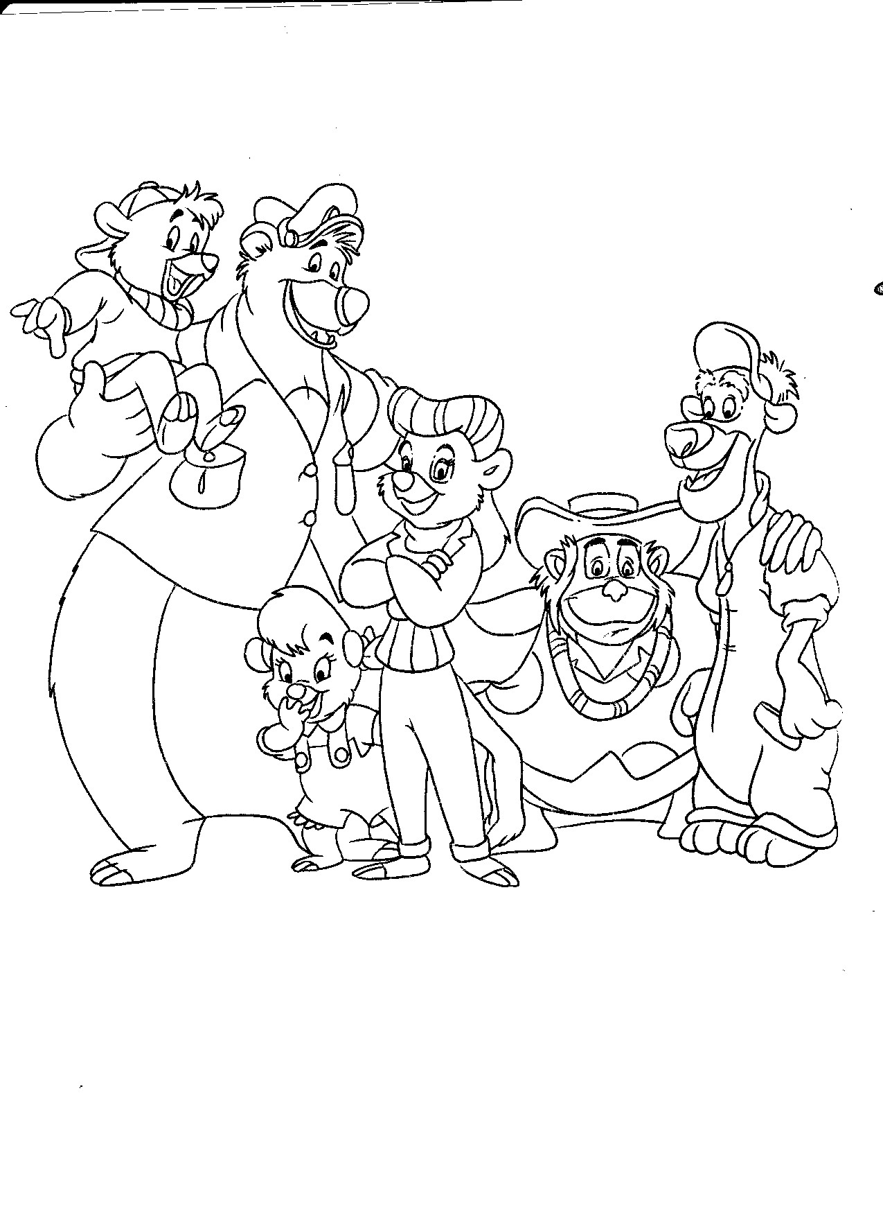 1275x1750 German Christmas Coloring Pages Free Draw To Color
