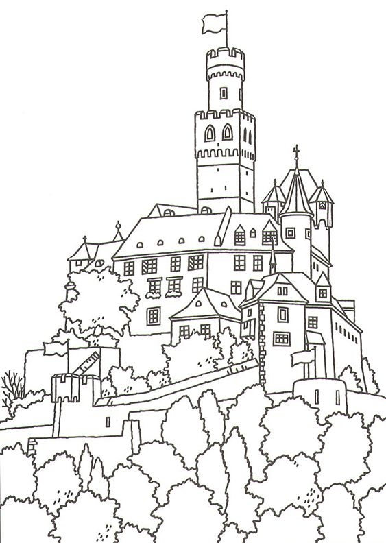 563x792 German Christmas Coloring Pages