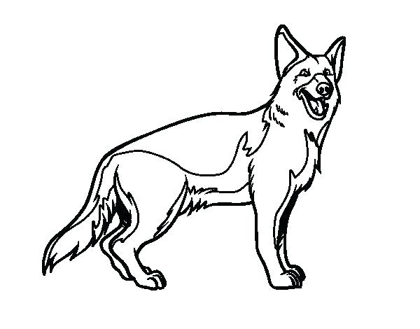 600x470 German Coloring Pages Shepherd Coloring Pages Shepherd Coloring