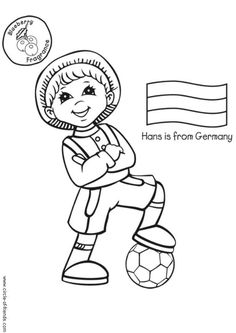 236x333 Children Around The World Coloring Page