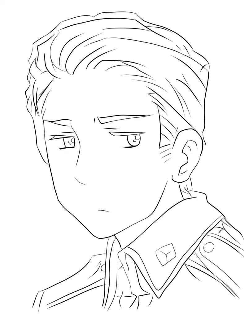 788x1014 Totally Drawing This Anime Hetalia Germany In Best