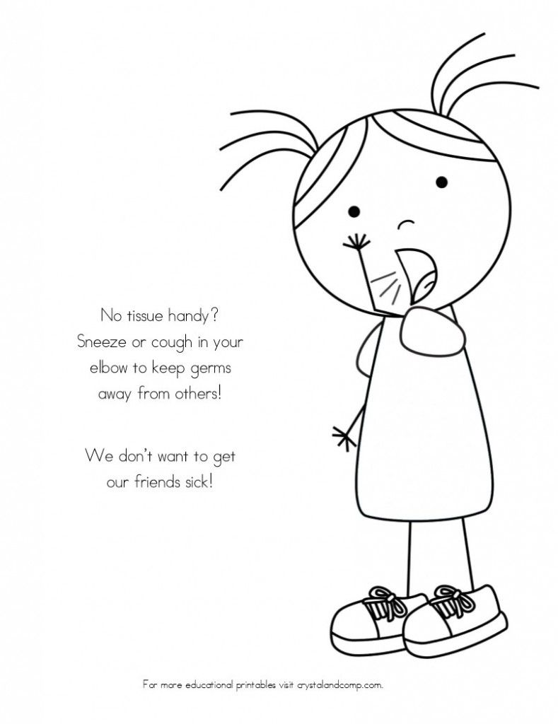 Germs Coloring Pages At Getdrawings Com Free For Personal