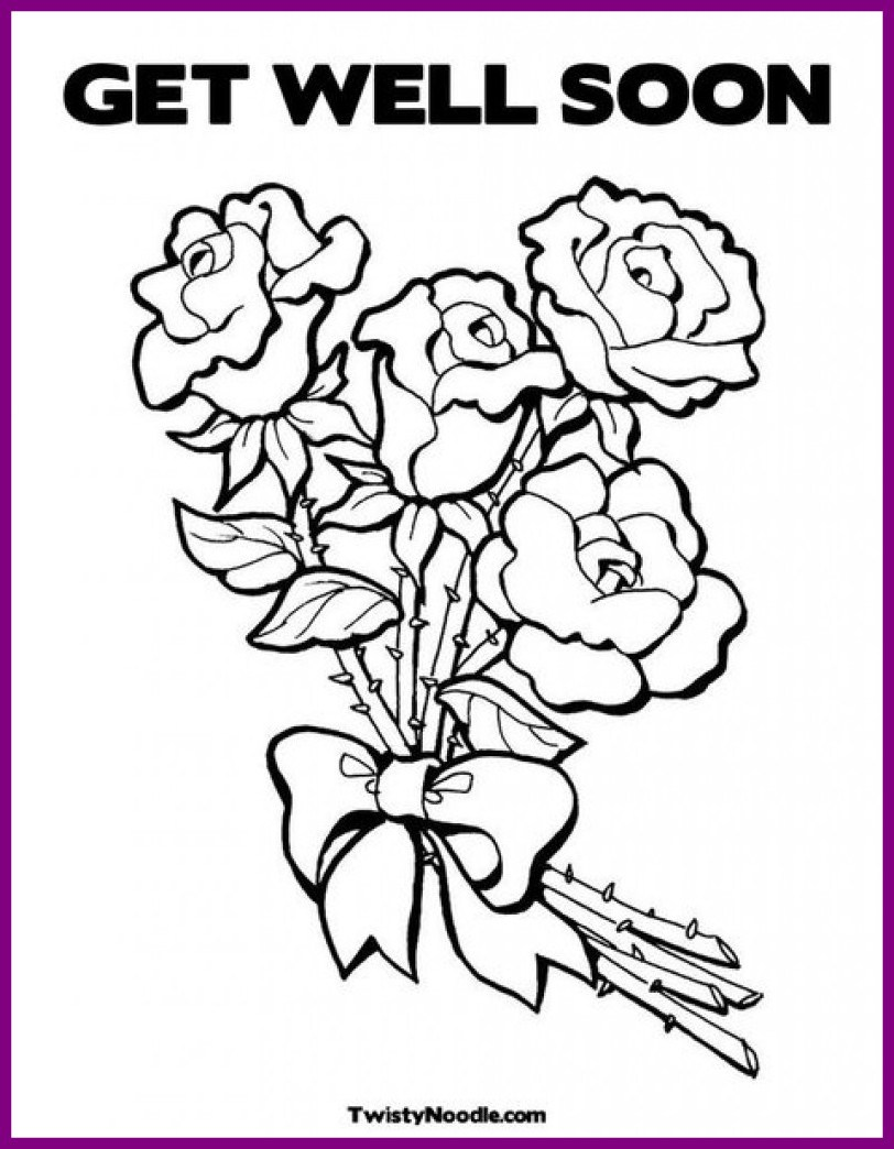 Get Better Soon Coloring Pages