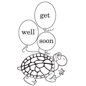 300x300 Get Well Soon Print And Color Greeting Card Parenting