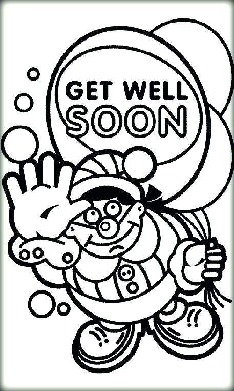 457x762 Get Well Soon Printable Coloring Pages Get Well Coloring Cards