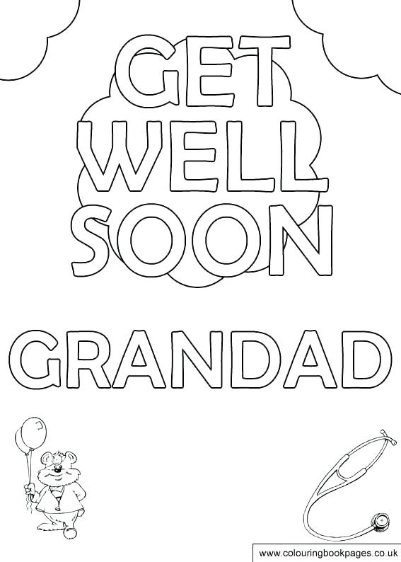 567x794 Coloring Get Well Soon Coloring Sheets