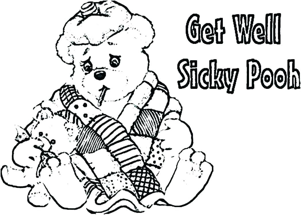 1048x750 Get Well Coloring Pages Coloring Ideas Pro