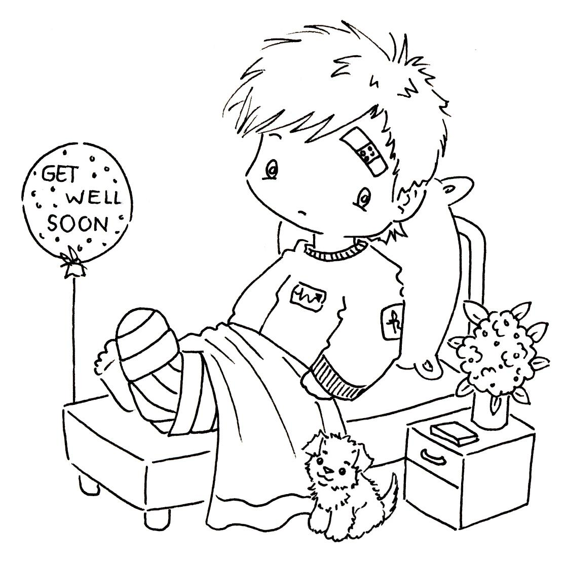 1117x1111 Get Well Soon Coloring Pages