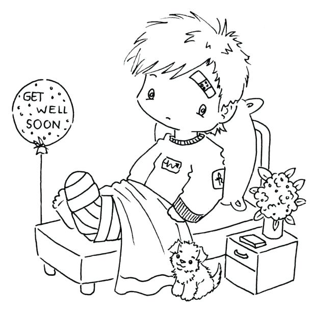 618x614 Coloring Pages Get Well Soon Printable Card Cards For Wedding Best