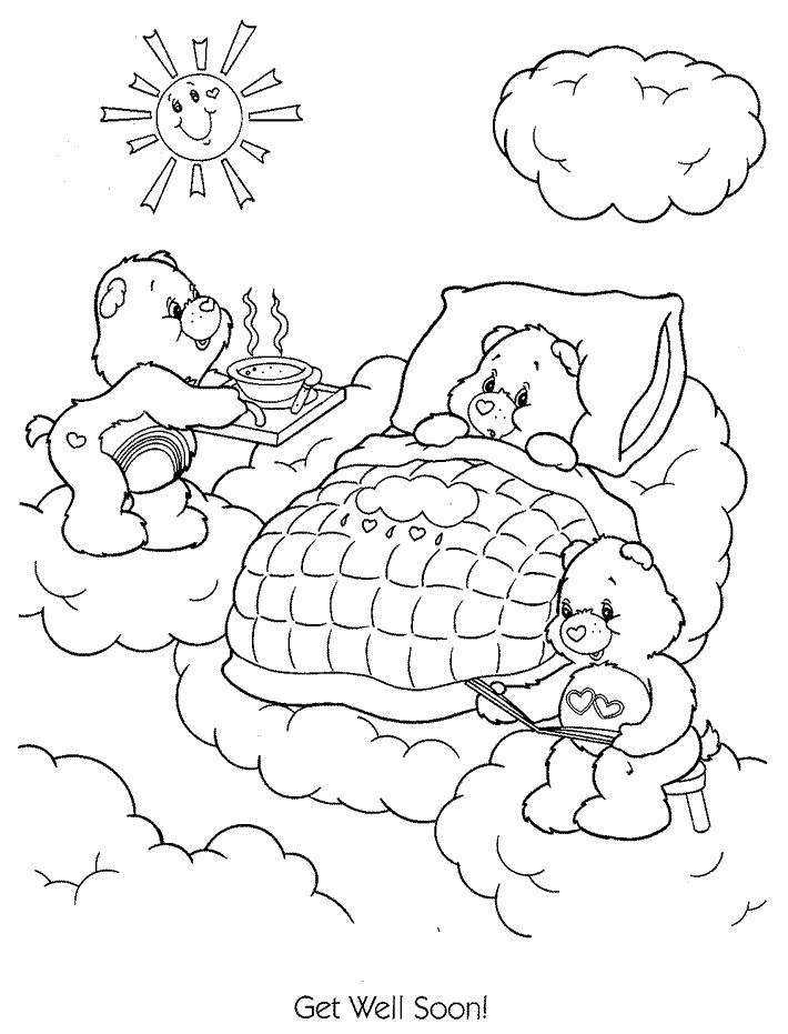 Get Well Card Coloring Page at GetDrawings com | Free for