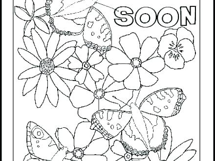 Get Well Printable Coloring Pages At Getdrawings Com Free For