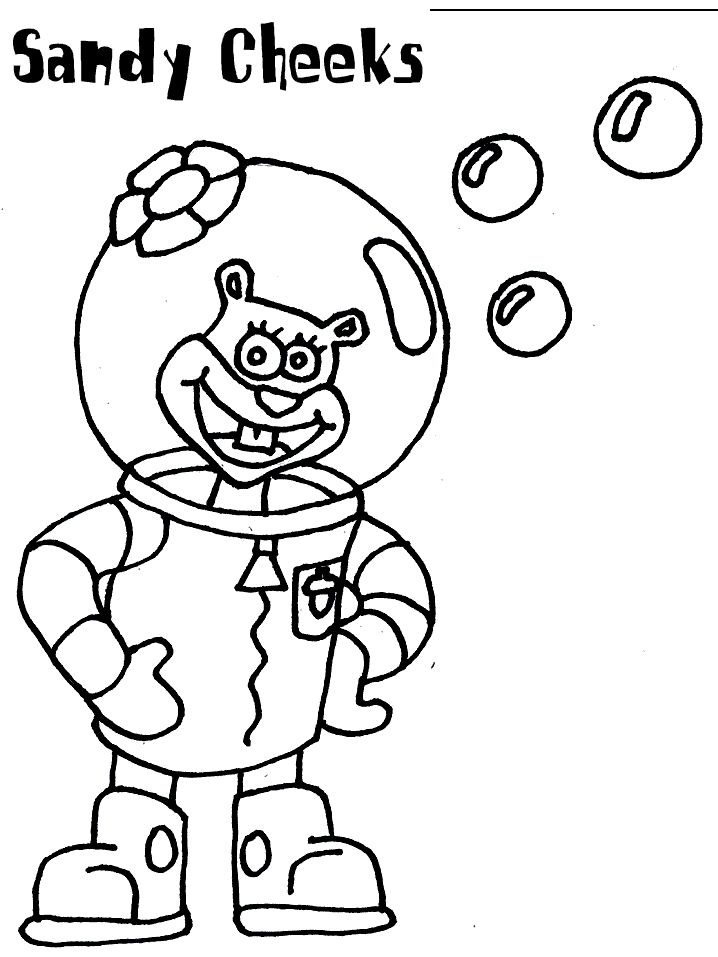 Ghetto Spongebob Coloring Pages