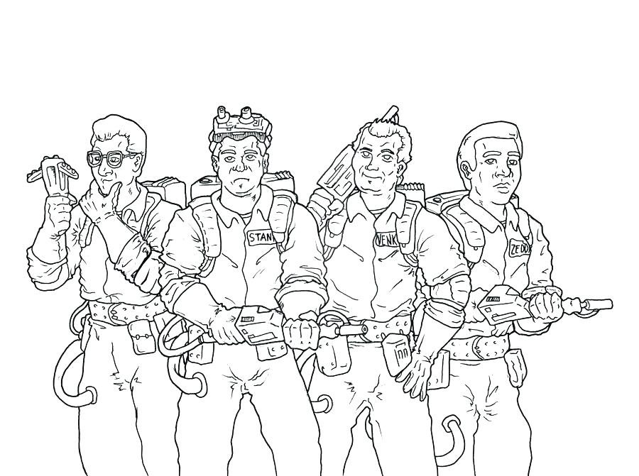900x671 Ghostbuster Coloring Pages Coloring Pages Draw Coloring Pages