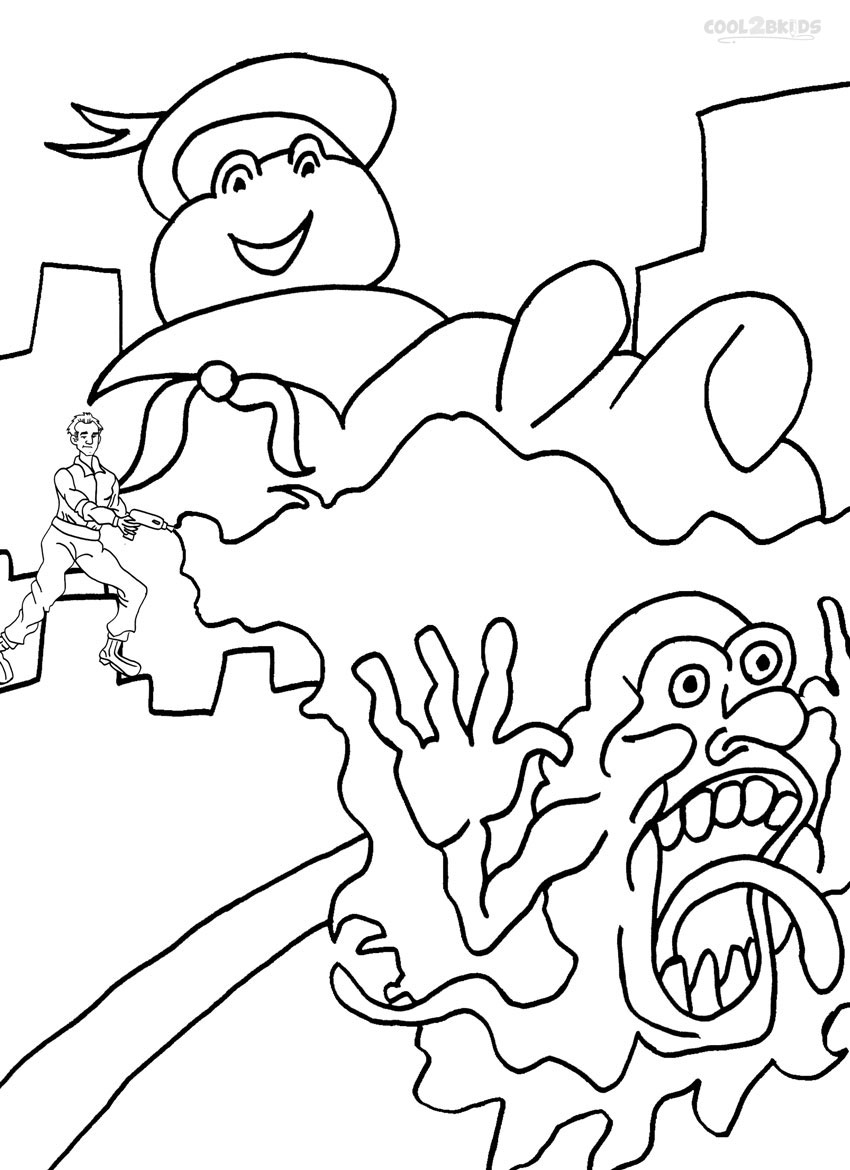 850x1170 Ghostbusters Coloring Pages