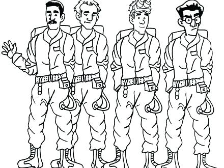 440x330 Ghostbusters Coloring Pages Coloring Pages Printable Image