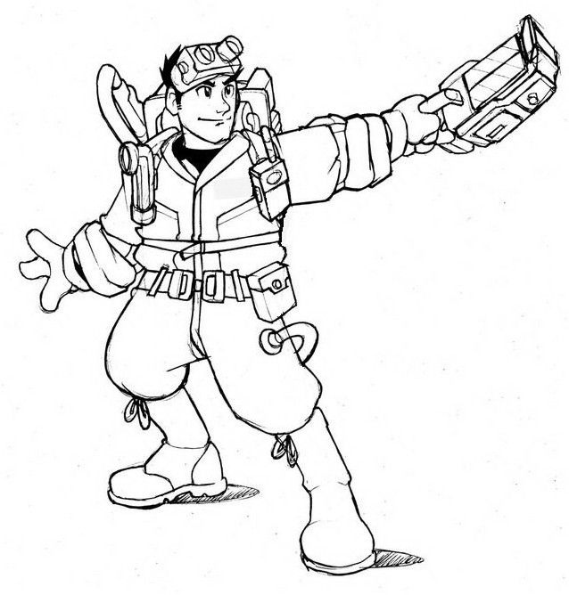 638x668 Ghostbusters Coloring Pages Inspirational
