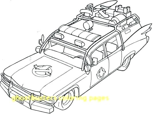 534x400 Ghostbusters Coloring Pages
