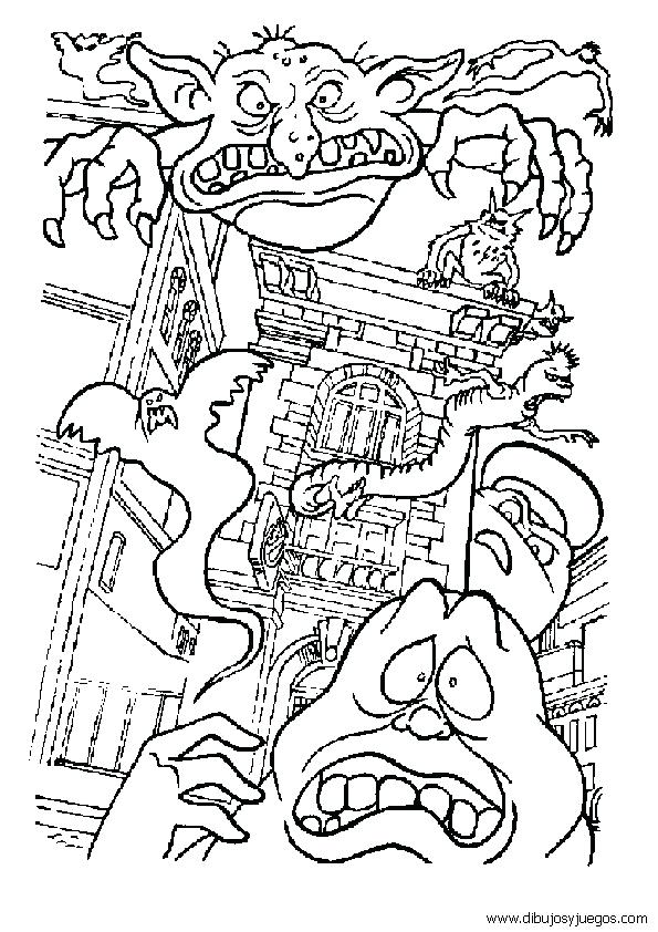 595x842 Ghostbuster Coloring Pages Ghostbusters Car Coloring Pages
