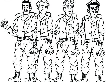 440x330 Ghostbusters Car Coloring Pages New Ecto Bltidm