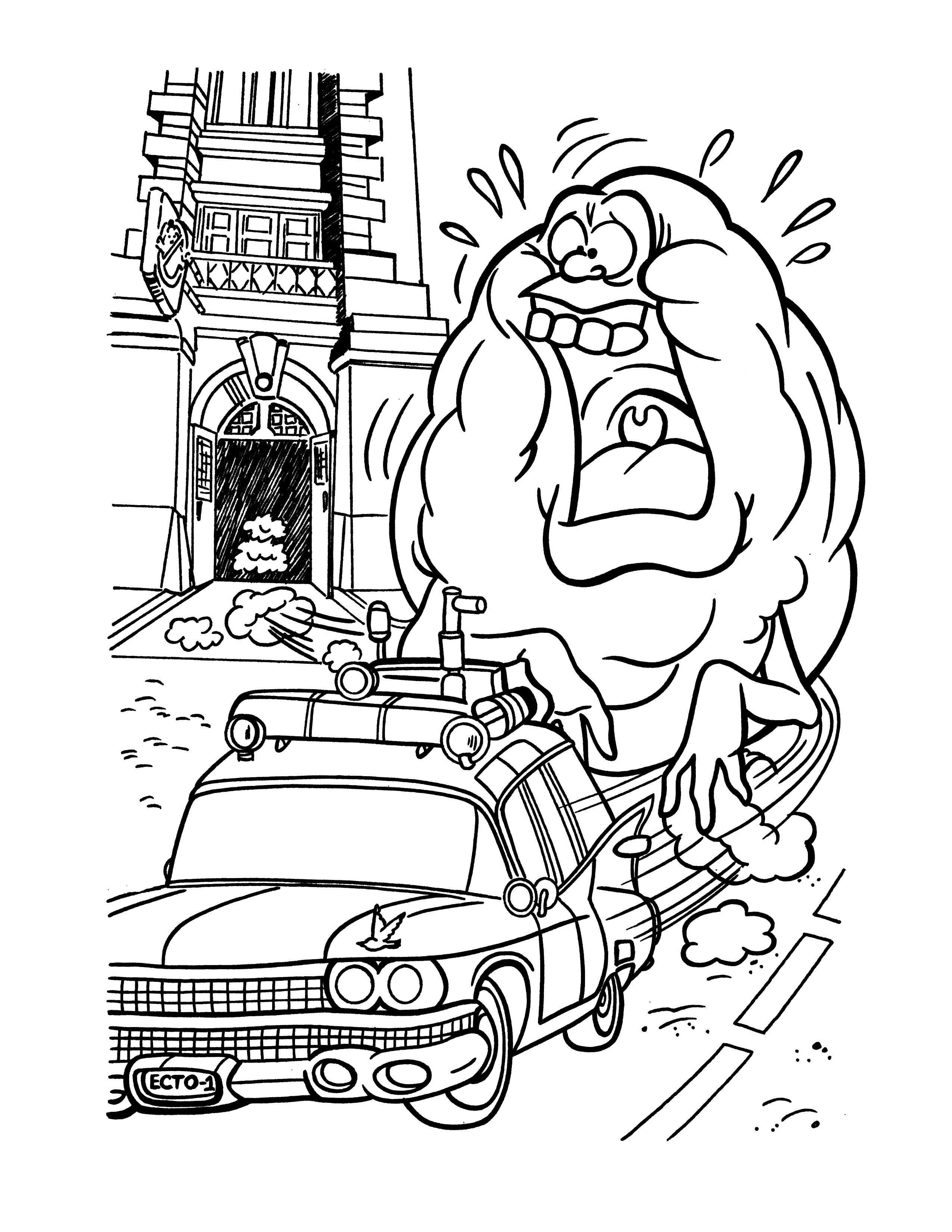 2550x3300 Ghostbusters Coloring Pages