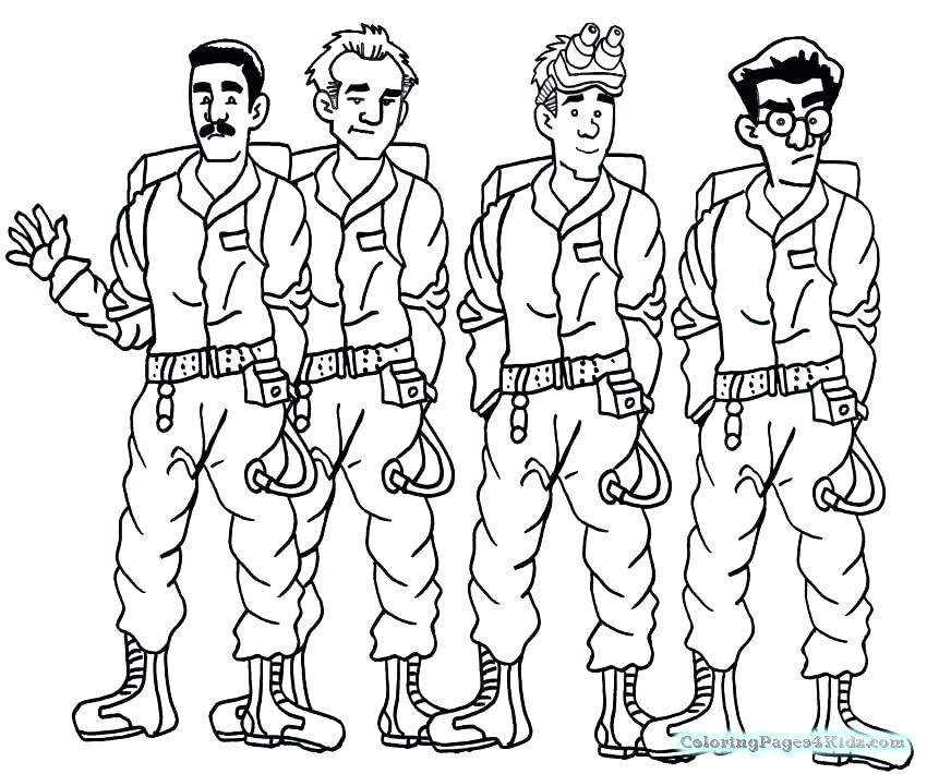 850x710 Ghostbuster Coloring Pages Coloring Pages Coloring Pages Coloring